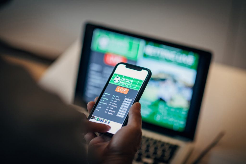electronic wagering